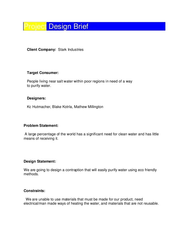 Brief Company Profile Samples | Recommendation Letter Template For
