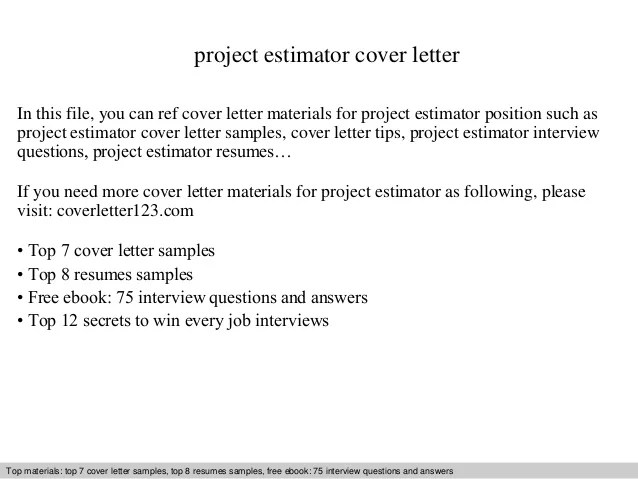 High Quality ... Emejing Flooring Estimator Cover Letter Images Resumes Cover ...