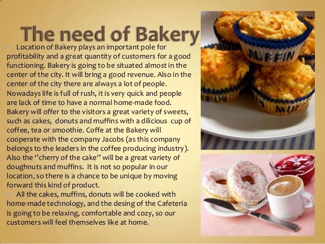 Project Of Mini Bakery