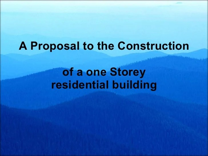 Project 1 Business Proposal Powerpoint Project Proposal
