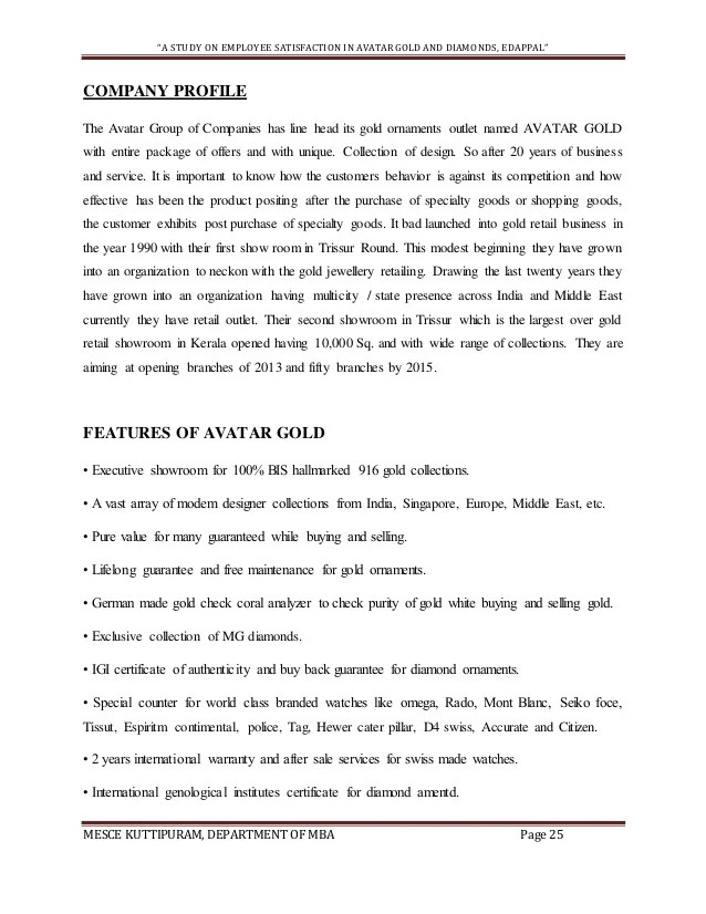 Sample Business Proposal Letter Deiric Mccann Project Report On Employee Satisfaction Sample