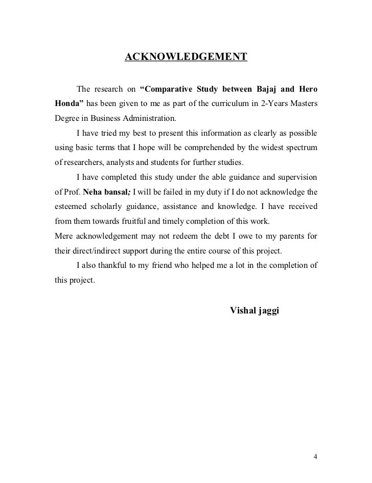 sample acknowledgement thesis paper - Vatoz.atozdevelopment.co
