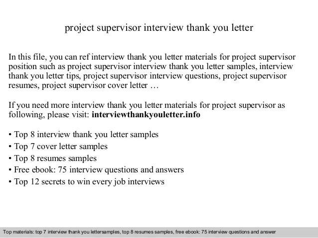 thank you resume follow up