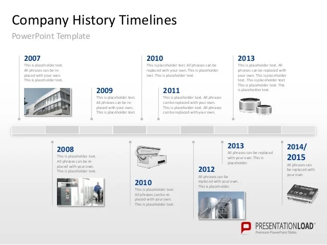 history timeline template powerpoint - Boatjeremyeaton - powerpoint timeline