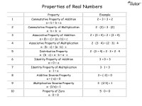 Addition Worksheets  Properties Of Addition Worksheets ...