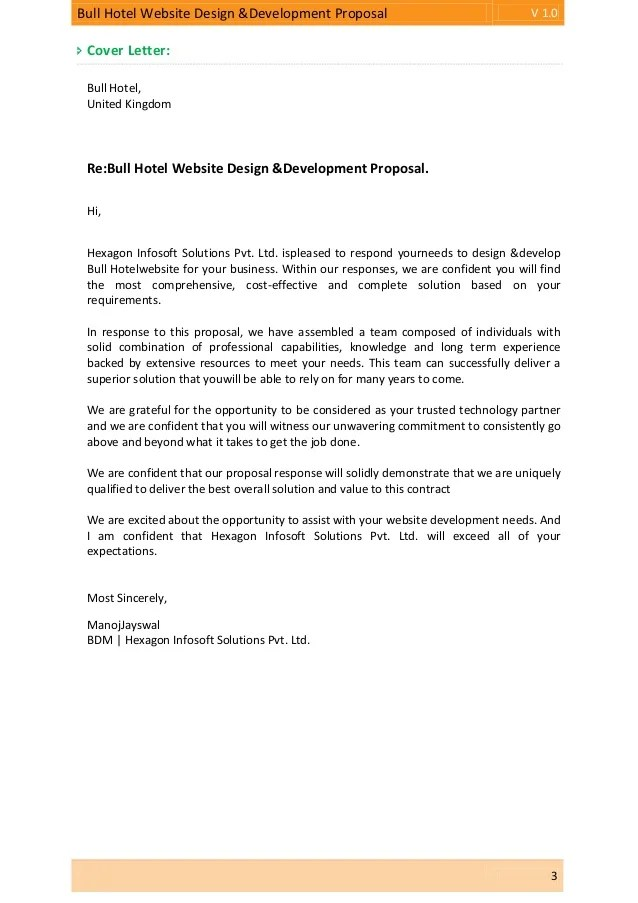 examples of cover letters for website design proposals - Anta - proposal letter examples