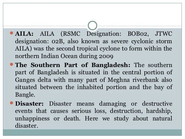 Proposal on Cyclone and Family Structure