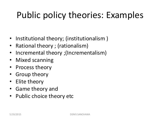 public policy examples - Minimfagency - public policy examples