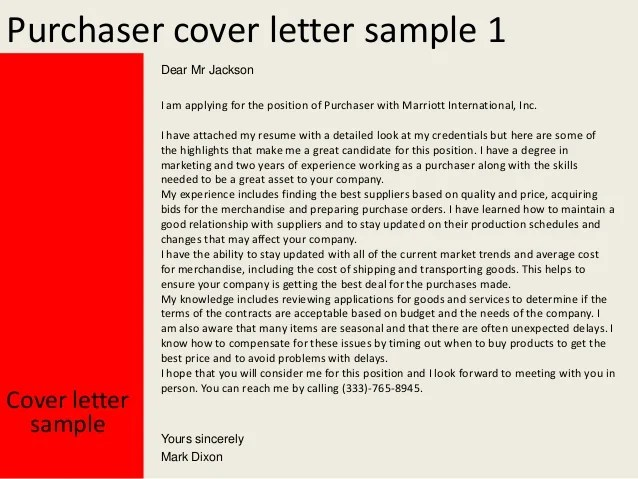 sample cover letter attached to resume