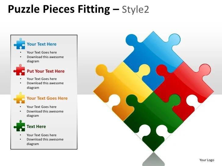 Powerpoint Puzzle Pieces Template Erieairfair