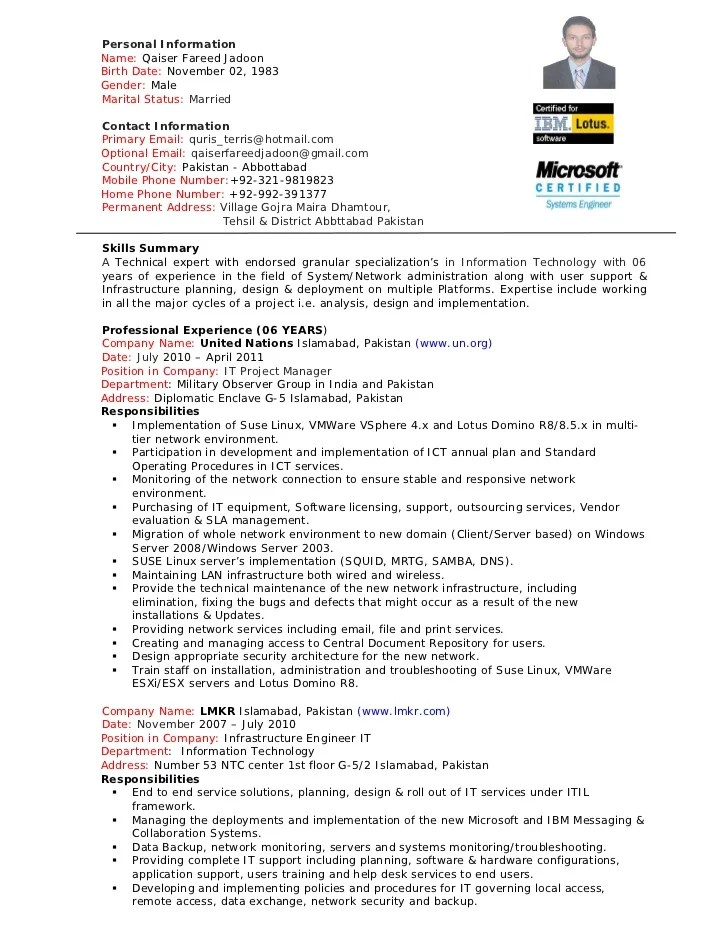 network manager resume - Acurlunamedia - implementation manager resumes