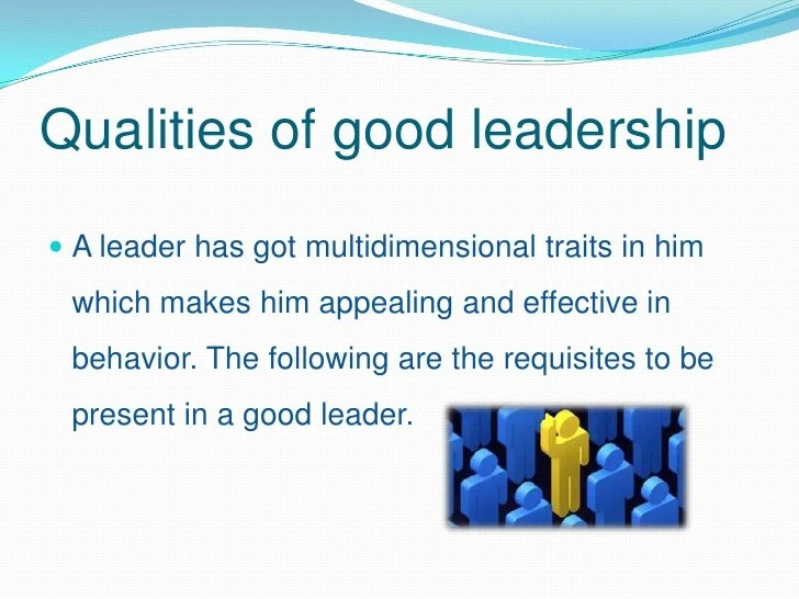 qualities of a good supervisor - Eastkeywesthideaways