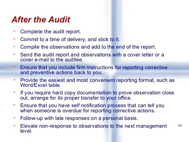 sample audit reports format - Yelommyphonecompany
