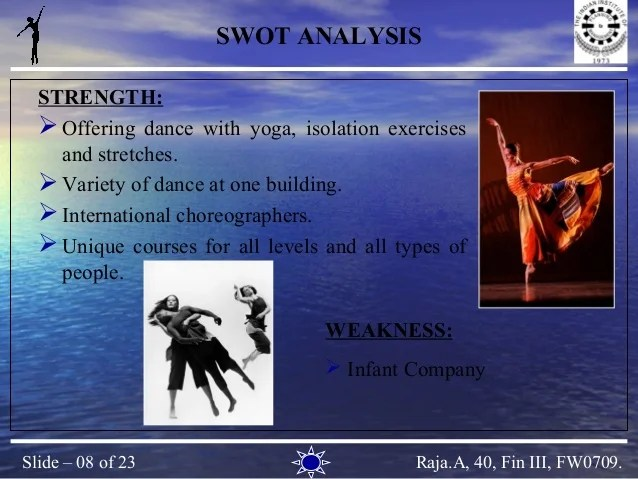 Yoga Center Business Plan Sample Bplans Business Plan Dance Academy