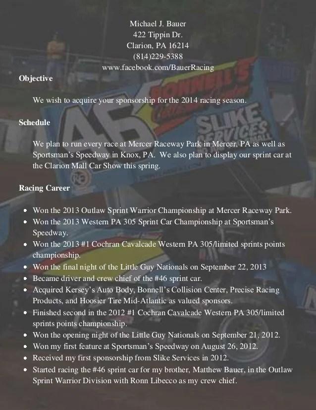 sponsorship resume - Josemulinohouse