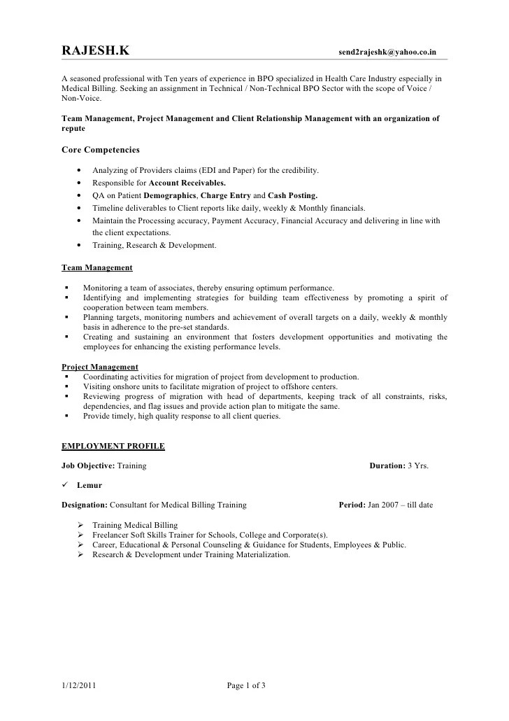 resume of team leader in bpo - Doritmercatodos - sample resume team leader