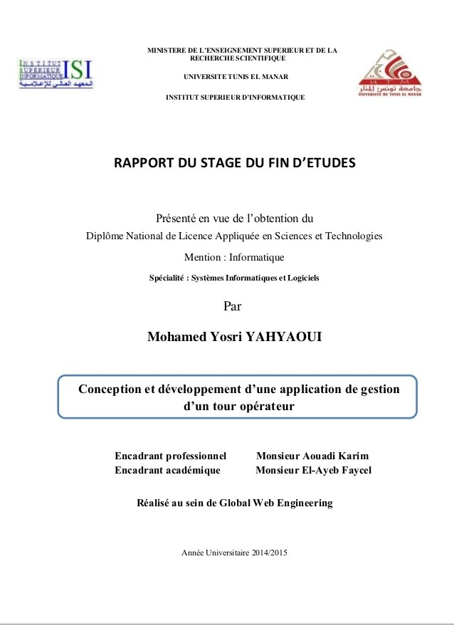 introduction cv stage informatique