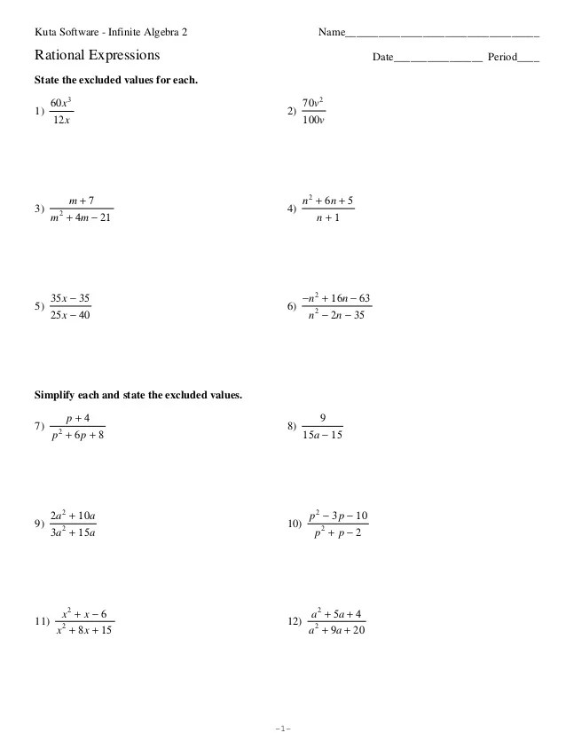 Solving Fractional Equations Worksheet Pdf solving equations – Fractional Equations Worksheets