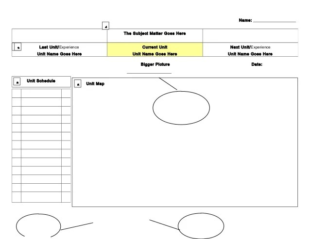 course organizer template - Goalgoodwinmetals - unit organizer routine template