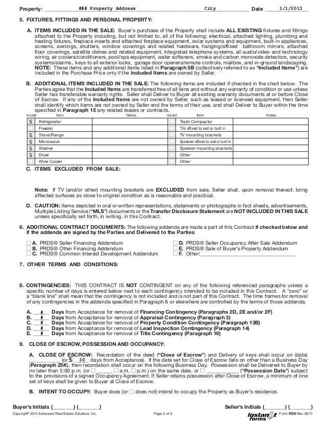 offer to purchase real estate form indiana - Solidgraphikworks
