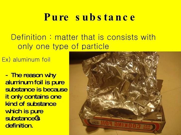 pure substance definition
