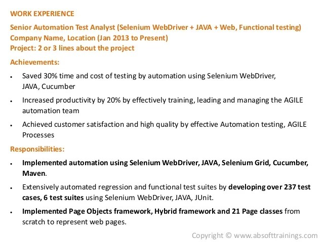 sample resume of manual tester best resumes curiculum vitae and