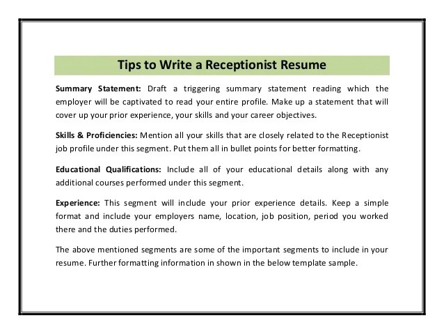 Examples Of Resume Opening Statement | Morrisons Job Application