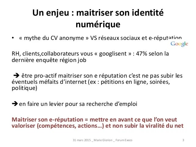 competences cv internet reseaux sociaux