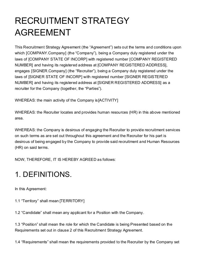 Consulting Service Contract Template - Eliolera - consulting retainer agreement