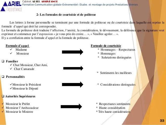 exemple formule de courtoisie lettre administrative exemple de lettre