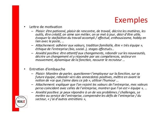 redaction cv lettre de motivation