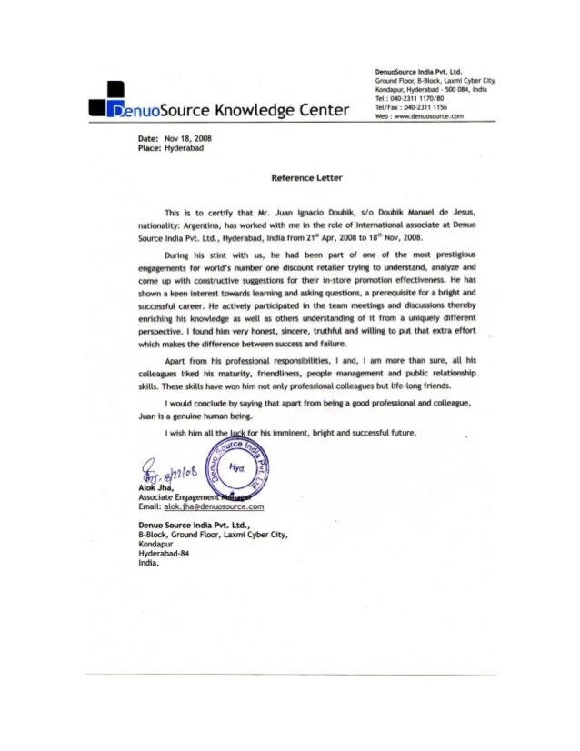 letter of recommendation for manager - Kenicandlecomfortzone - project manager recommendation sample