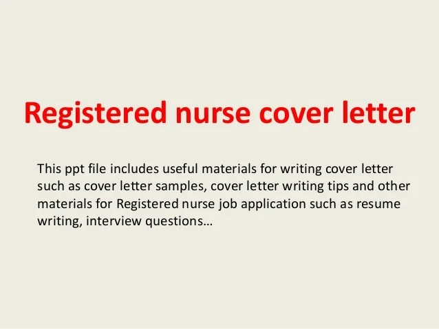 nurse manager cover letters