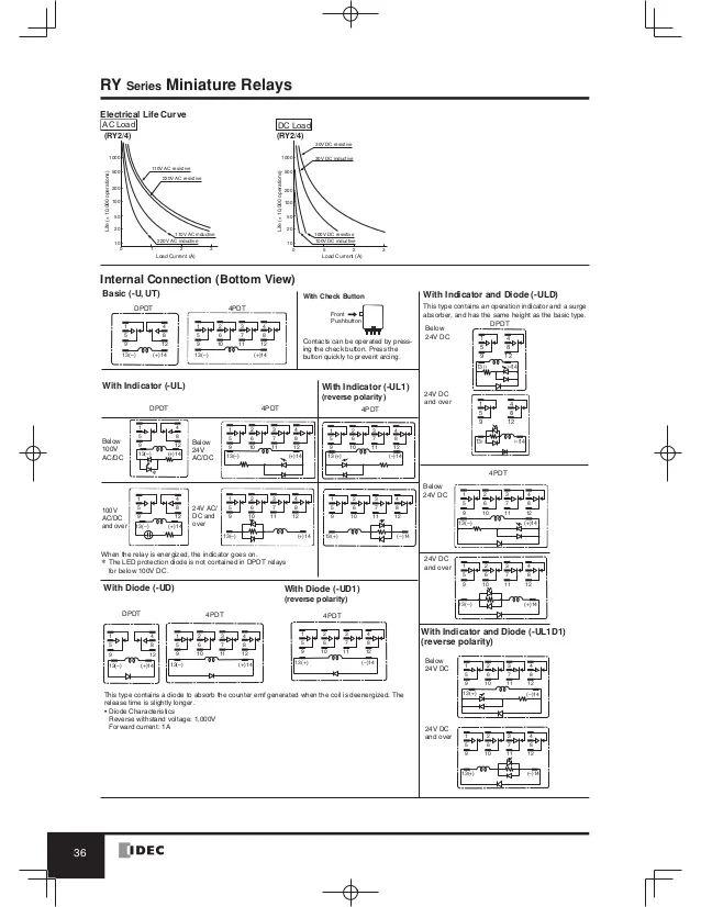 finder relay 8 pin wiring diagram