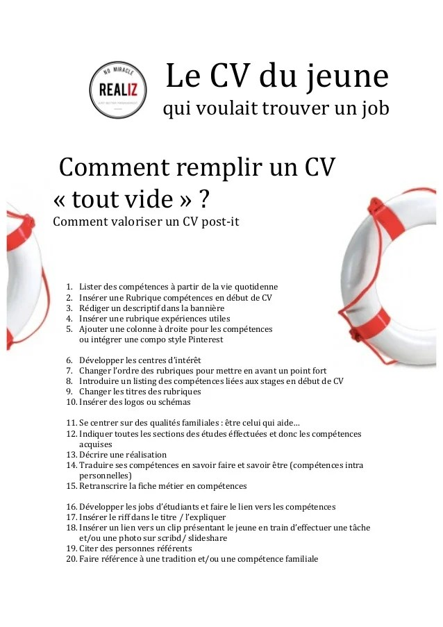 comment presenter les reference sur un cv