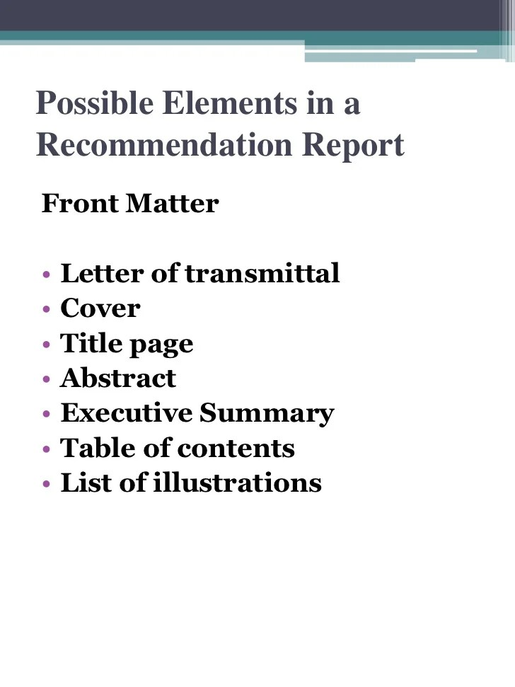 apa letter of recommendation