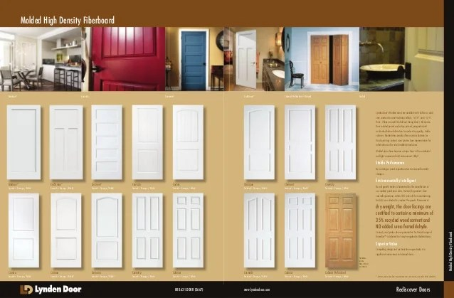 Lynden Door Lynden Door Residential Door Brochure (web) April 2014