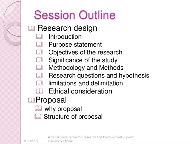 Creating A Thesis For A Criminal Justice Research Paper Research Design And Proposal Writing