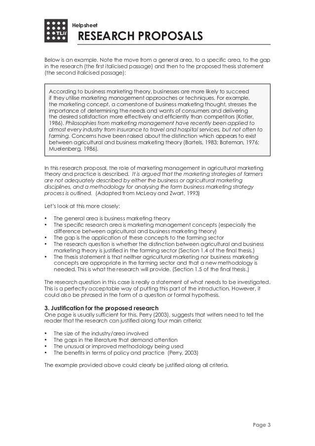 marketing research proposal example free - Minimfagency