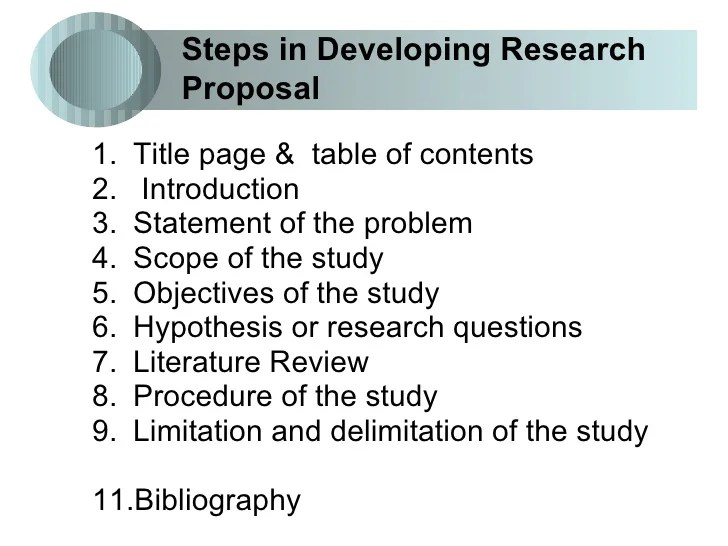 How To Write A Research Proposal Daad Research Proposal 1