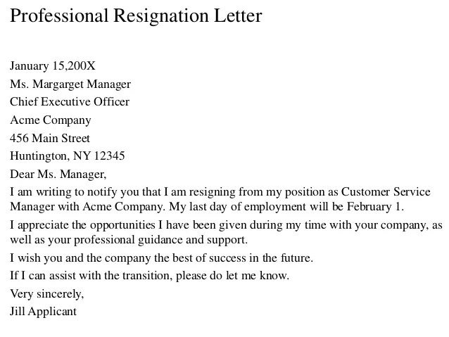How To Write A Resignation Letter With Sample Wikihow Resignation Letter