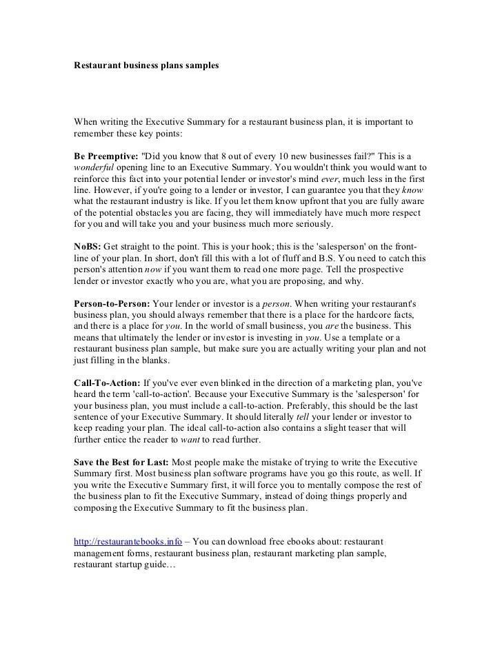 executive summary business plan samples - Akbagreenw