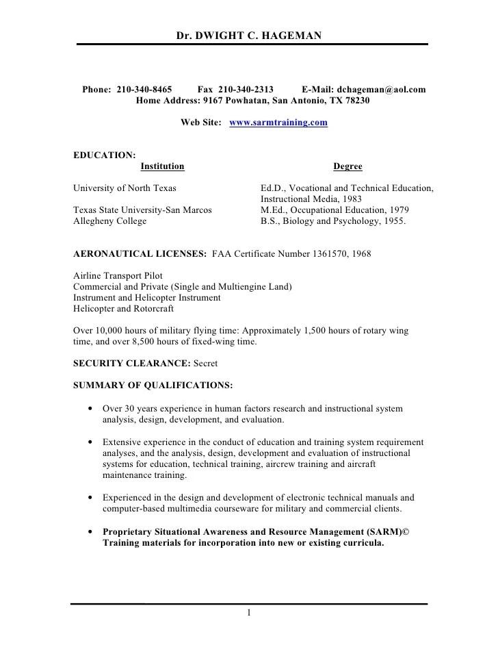 pilot resume template cronjobbillybullock professional pilot resume