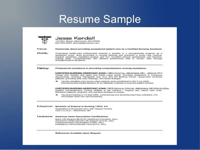 how to type a job resume - Pinarkubkireklamowe