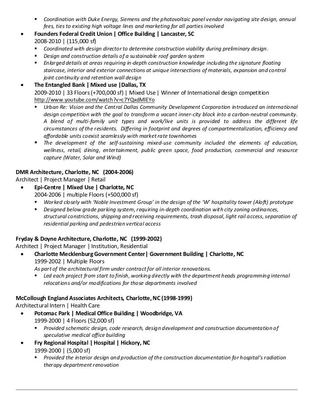 resume companies in charlotte nc