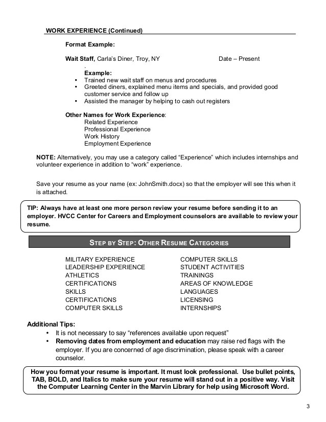 Functional Resume Dietitian | Résumé Templates Tailored For Your