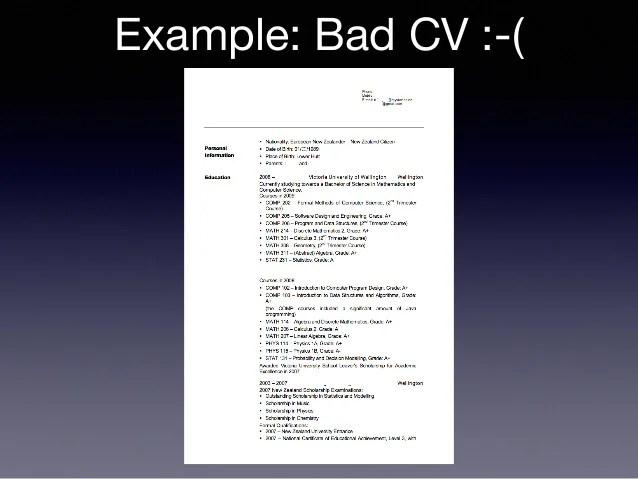 Example Bad Resume Bad Resume Samples, Bad Resume Samples, 5 Bad
