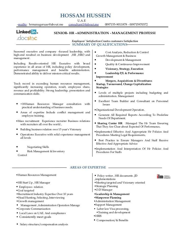 human resources consultant resumes - Pinarkubkireklamowe