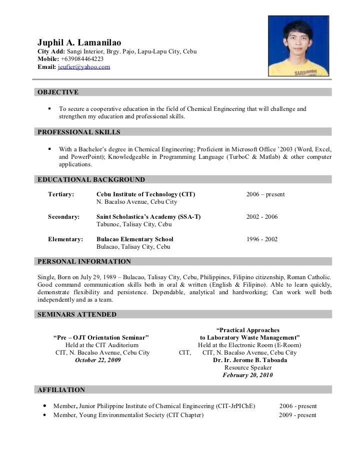 How To Write A Good Teacher Resume How To Write A Good Teacher Resume Teach Abroad With Resume J A L 100612232507 Phpapp01