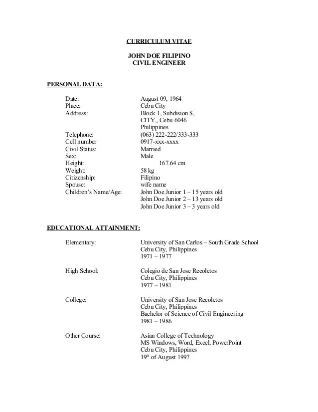 Sample Resume For High School Students Resume Sample